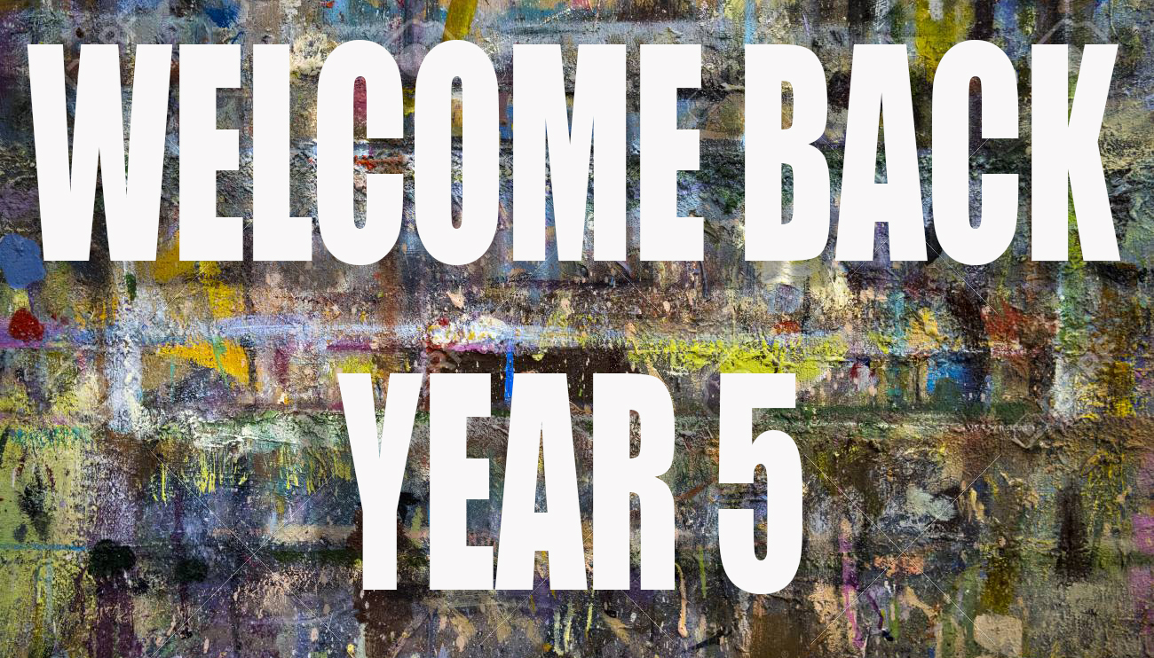 WELCOME BACK Y5